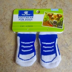 Top Paw Footwear For Dogs Size S Non Skid Booties